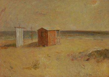 Giuseppe Manfredi - Cabina sul mare