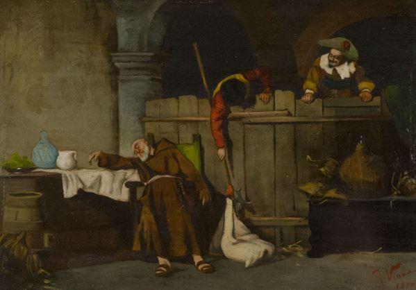 Vinea Francesco (Attribuito) - In cantina