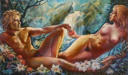 Pier Luigi Aglietti - Adamo ed Eva