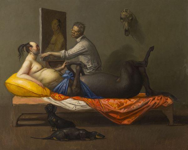 Riccardo Tommasi Ferroni - Centauro in posa