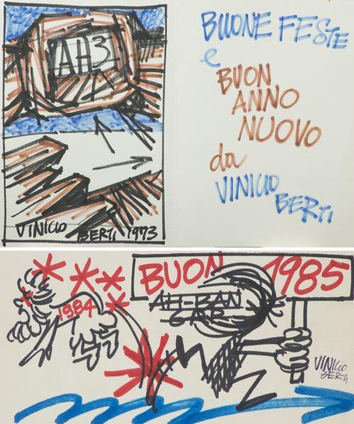 Vinicio Berti - Lotto unico di due opere