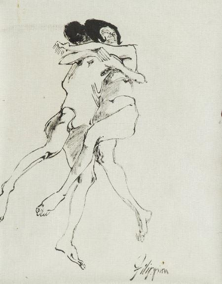 Felice Filippini - Abbraccio