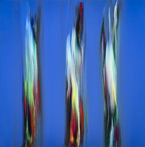 Ennio Finzi - Il verso del colore in azzurro