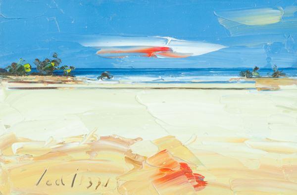 Sergio Scatizzi - Spiaggia in maremma