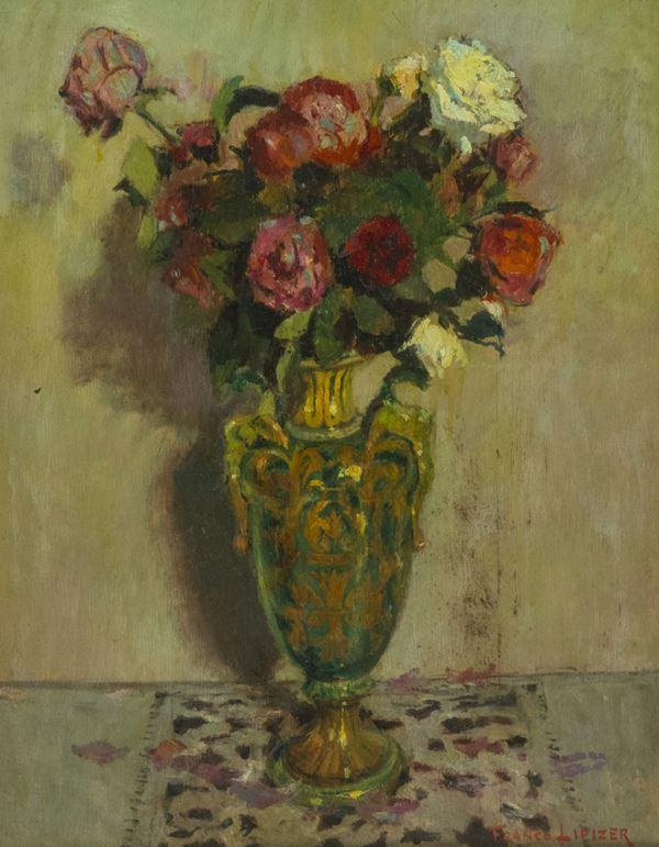 Franco Lipizer - Vaso di fiori