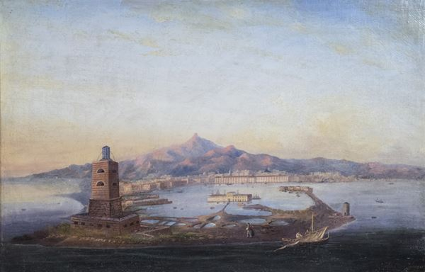 Salvatore Fergola - Porto di Messina