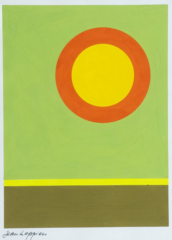 Jean Leppien : Senza titolo  - Asta Arte Moderna e Contemporanea, '800 e'900 - Fabiani Arte