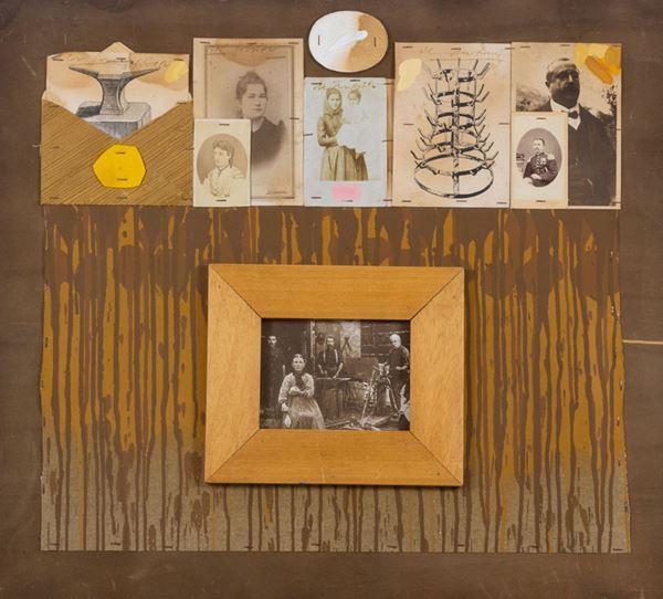 Concetto Pozzati - La famiglia del fabbro che ha fatto...il Duchamp