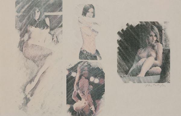 Mimmo Rotella - Cover girls