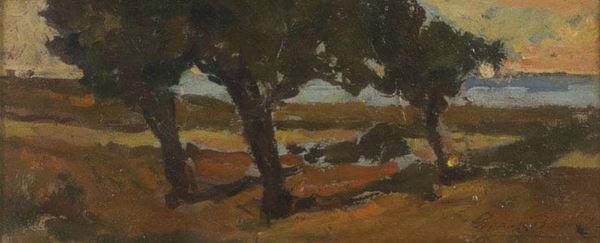 Giovanni Bartolena - Paesaggio