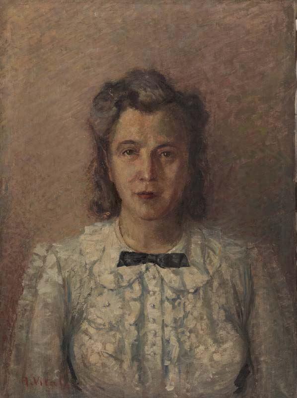 Alberto Vitali - Ritratto di signora