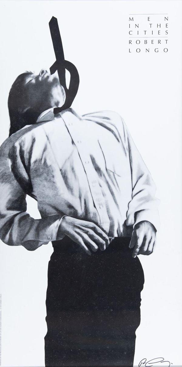 Robert Longo - Men in the cities