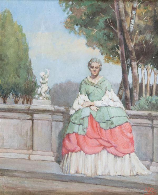 Vittorio Reggianini - Gentildonna