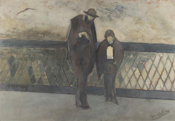 Lorenzo Viani - Ponte a Parigi