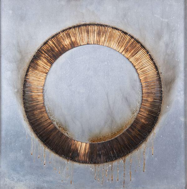 Bernard Aubertin - Dessin de feu circulaire