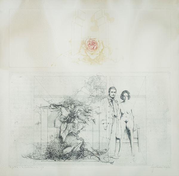 Sergio Sarri - il pittore e la modella n. 2