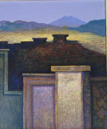 John Picking - Walls under landscape