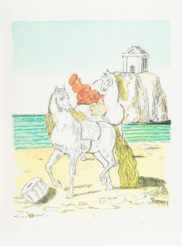 Giorgio De Chirico - Cavalli sulla spiaggia