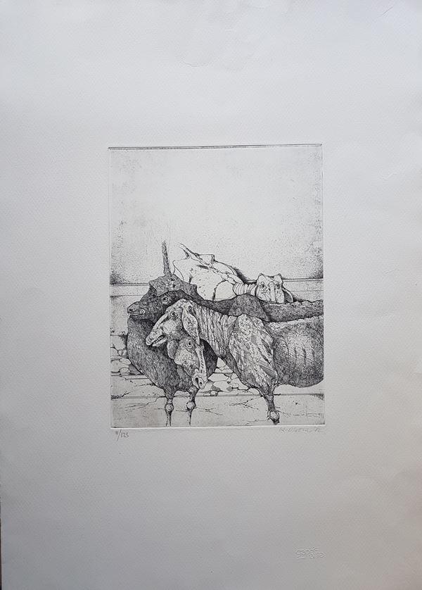 Karl Plattner - Pecore