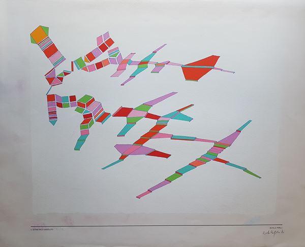 Achille Perilli - Il geometrico dissoluto