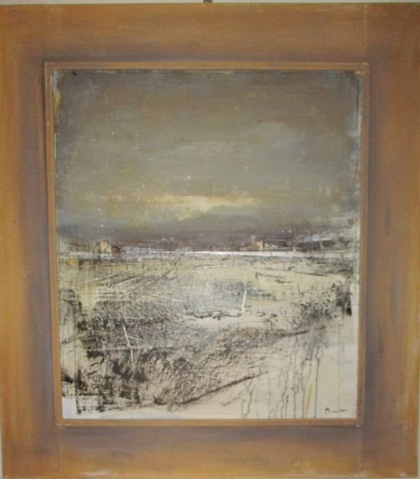 Antonio Pedretti - Paesaggio