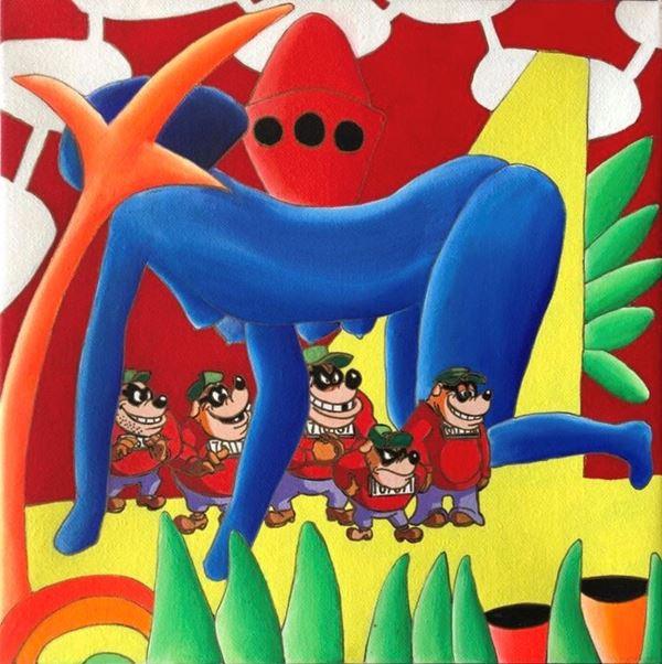 Giancarlo Montuschi - I figli della lupa