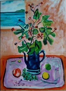 Alfredo Fabbri - Vaso di fiori