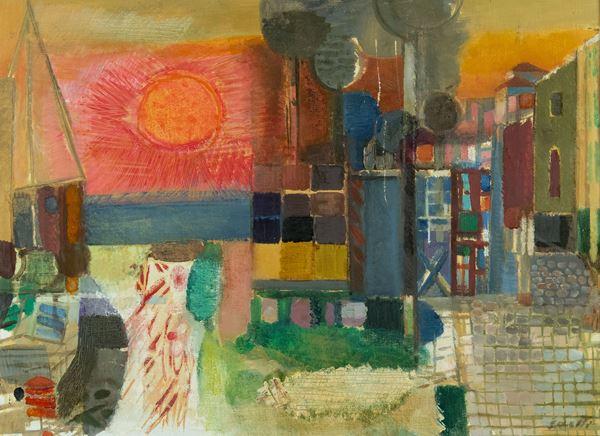 Bruno Saetti - Paesaggio