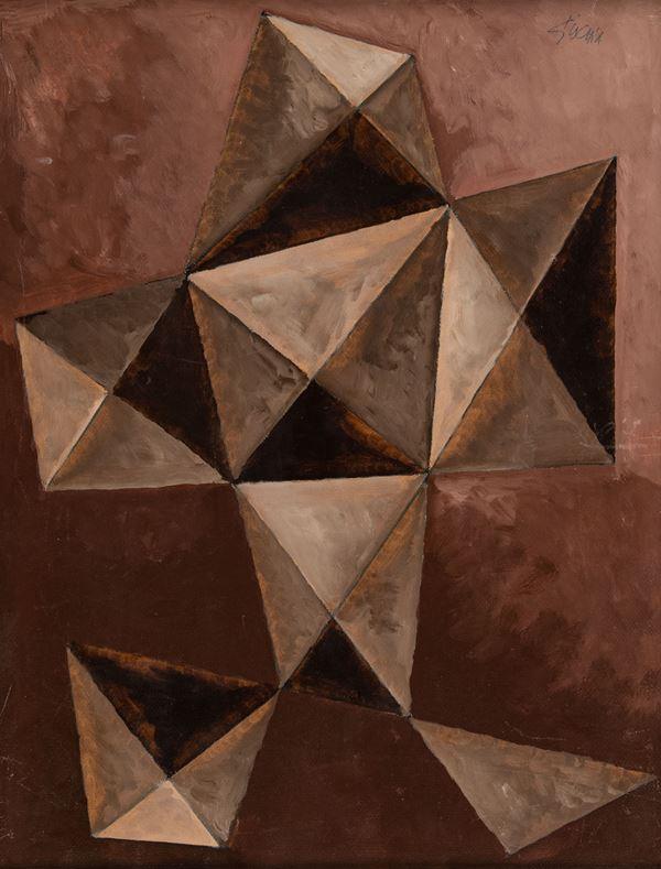 Leon Gischia : Senza titolo  - Olio su tela - Asta Arte Moderna e Contemporanea - Fabiani Arte