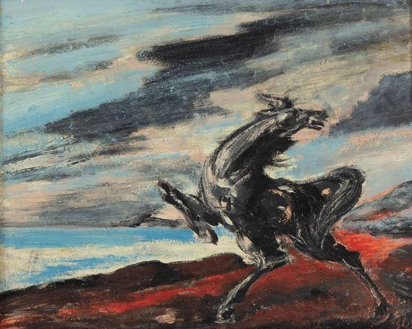 Aligi Sassu - Cavallo