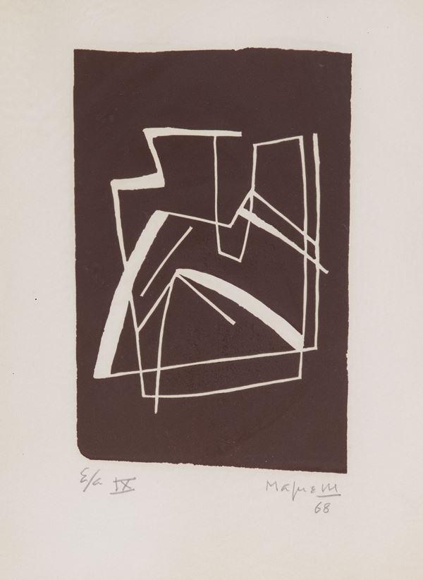 Alberto Magnelli - Composizione