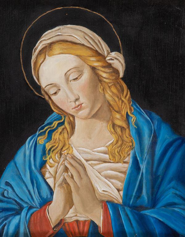 """Daniela Vannini Quirici - Da Giovanni Battista Soldi detto Sassoferrato """"Madonna"""""""