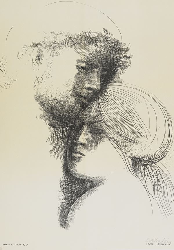 Emilio Greco - Paolo e Francesca