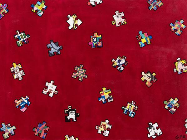 Giampietro Arzuffi - Pioggia di colori per l'arte