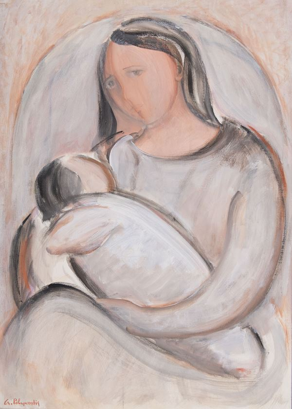 Giorgio Polykratis - Madre e figlio