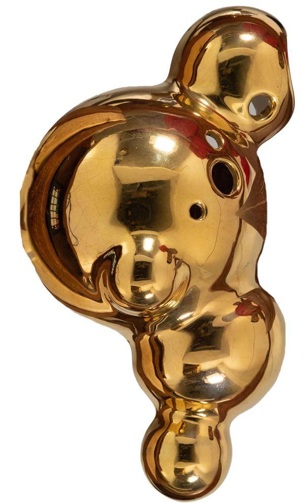 Beatrice Gallori -  Lotto unico di due opere Gold/Red