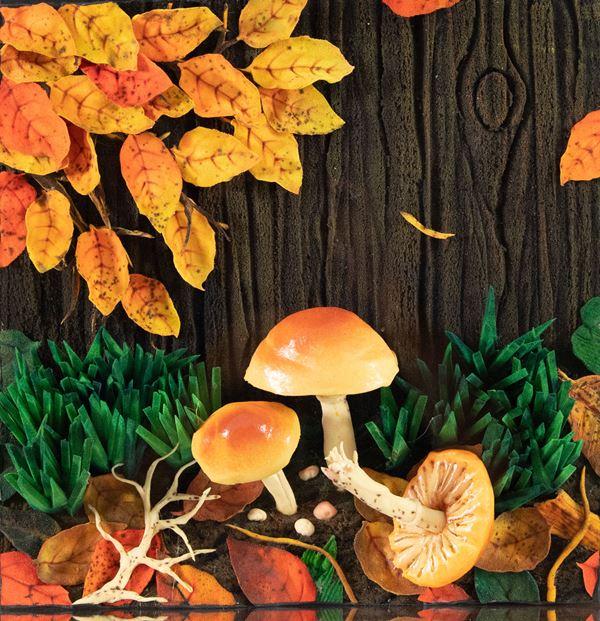 Piero Gilardi - Funghi sotto la malga
