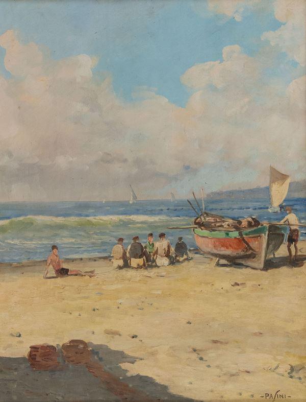 Pasini - Figure sulla spiaggia