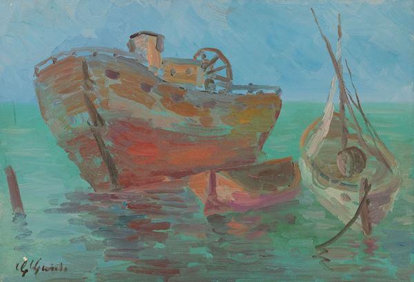 Guido Guidi - Nave in porto