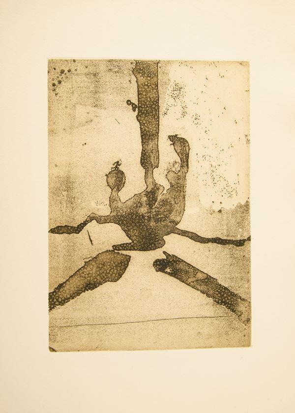 "Robert Motherwell - Senza titolo da ""Paroles Peintes"""