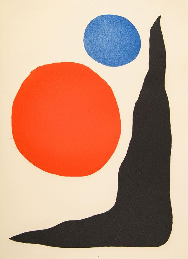 "Alexander Calder - Senza titolo da ""Paroles Peintes"""