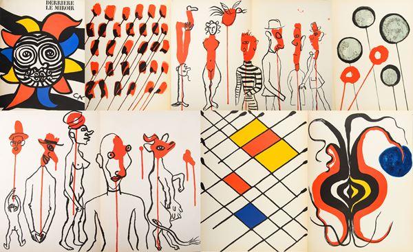 Alexander Calder - Derriere le Miroir