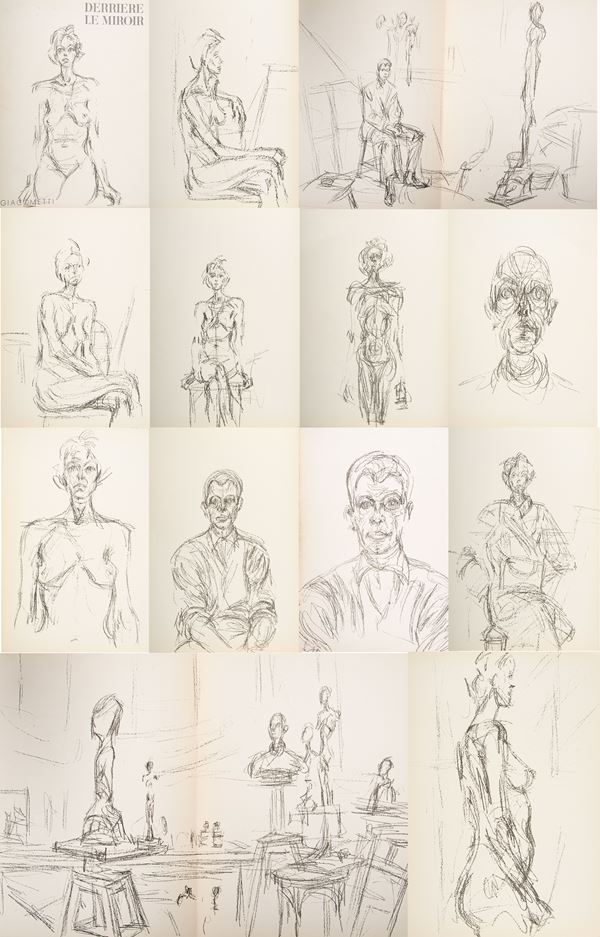Alberto Giacometti - Derriere le Miroir
