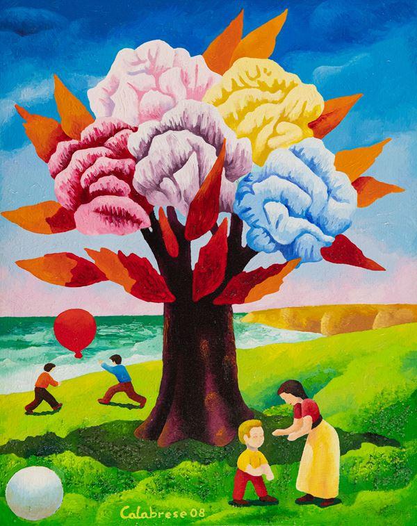 Antonio Calabrese - L'albero dei fiori n° 2