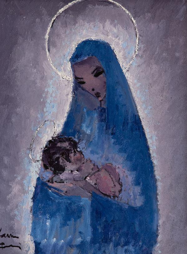 Voltolino Fontani - Madonna con bambino