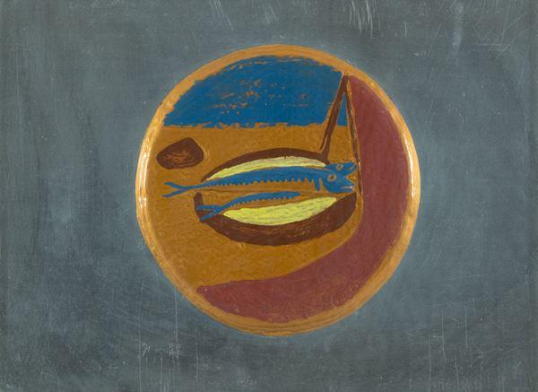 Giuseppe Migneco - Pescata di sarde