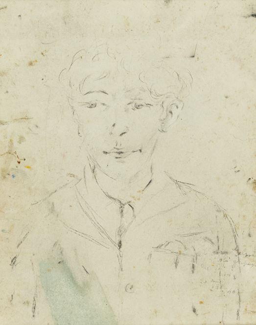 Filippo De Pisis - Ritratto di ragazzo