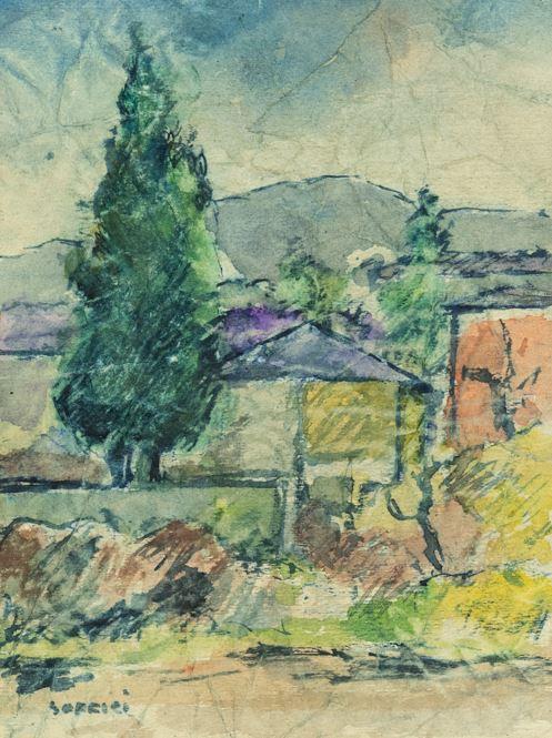 Ardengo Soffici - Paesaggio