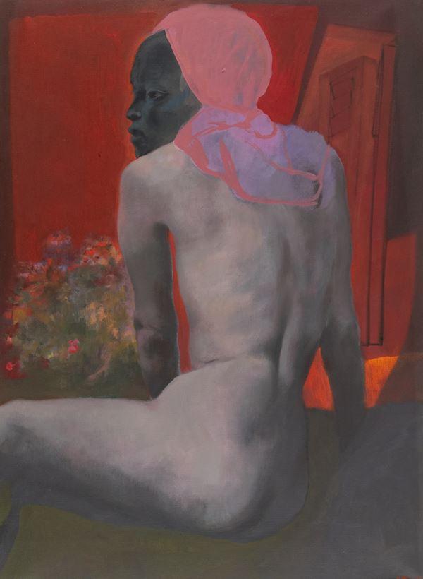 Ugo Attardi - Nudo di spalle