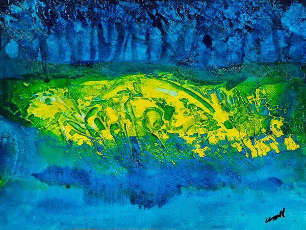 Robert Carroll - Flotsum Yellow